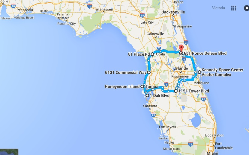 The Ultimate Central Florida Road Trip Is Right Here – And ...