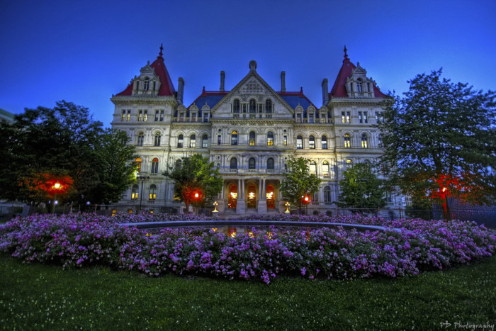 12. Enjoy the Capitol Building in Albany, so stunning!