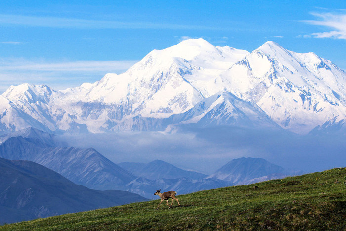 2) We have 17 out of the 20 highest peaks in the United States.