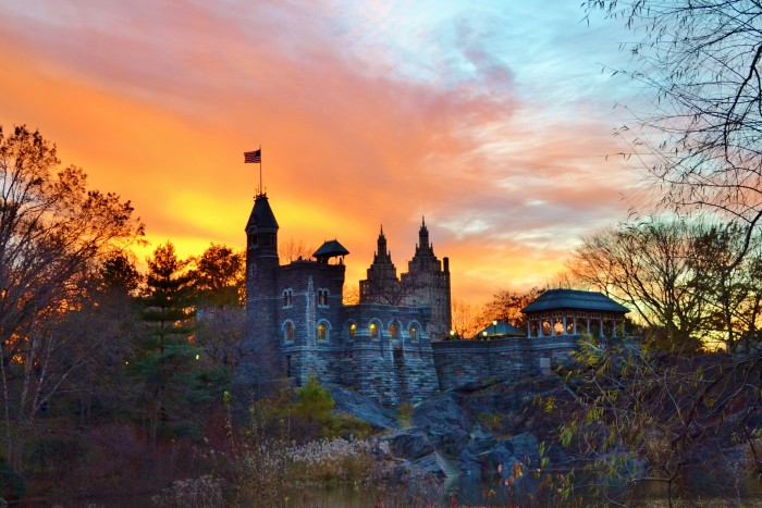 3. Belvedere Castle in Central Park