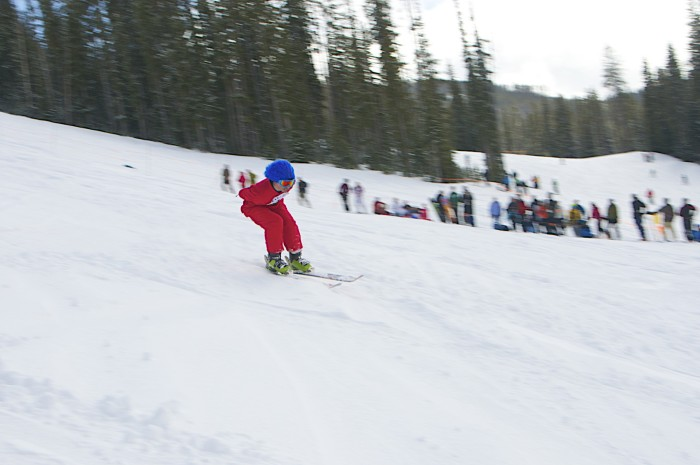 3. The snow sports.