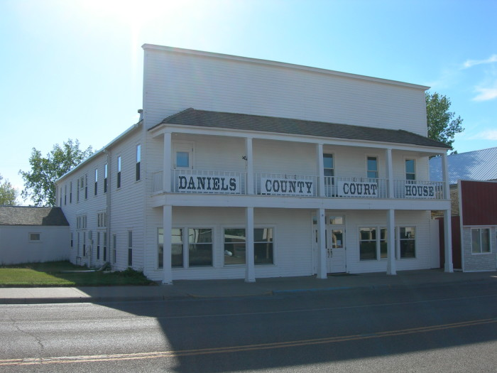 1. Walk through the Daniels County Museum & Pioneer Town.