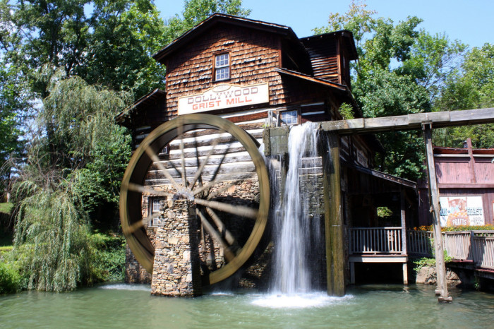 10) Dollywood - Sevierville