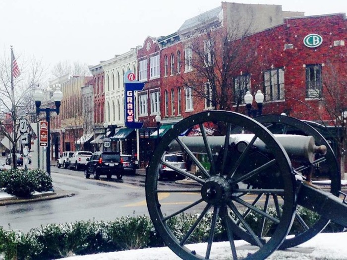 1. Downtown Franklin
