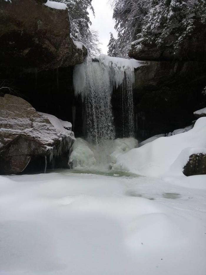12. Eagle Falls winter