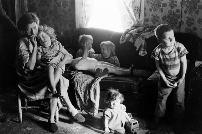 11. This is an Appalachian family in Eastern Kentucky, circa 1964.