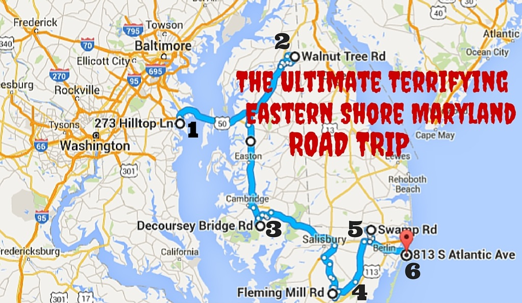 Terrifying Eastern Shore Maryland Road Trip