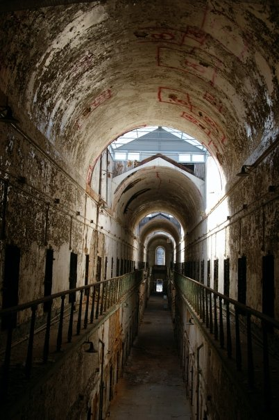 history eastern state penitentiary Eastern state penitentiary was once the most famous and expensive prison in the world, but stands today in ruin, a haunting world of crumbling cellblocks and empty.