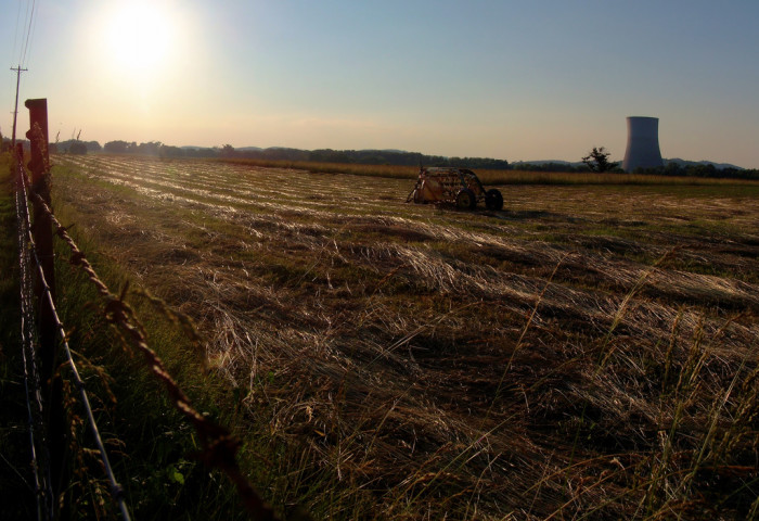 8. The flatlands take on a stunning trajectory when you insert a bit of sun flare.