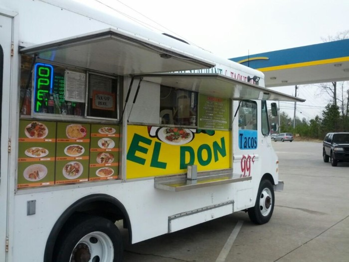 8. El Don Taco Bus, Acworth