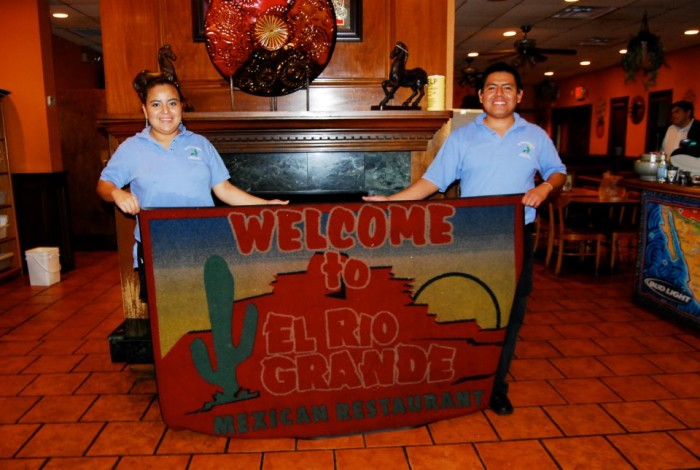9. El Rio Grande Mexican Restaurant at 34 Carothers Road in Newport