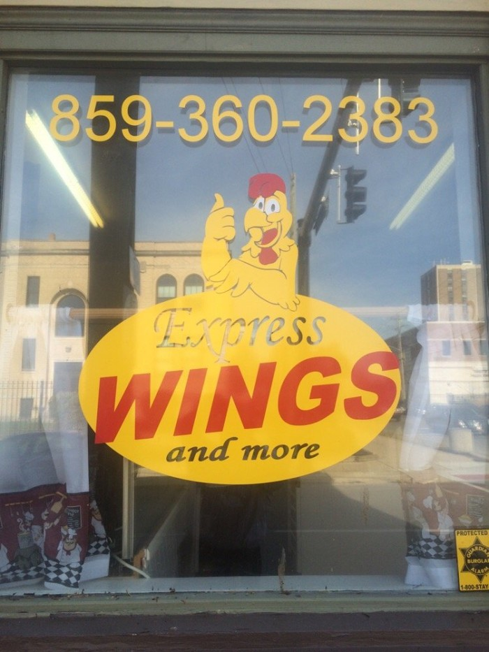 11. Express Wings and More at 101 E 12th Street in Covington