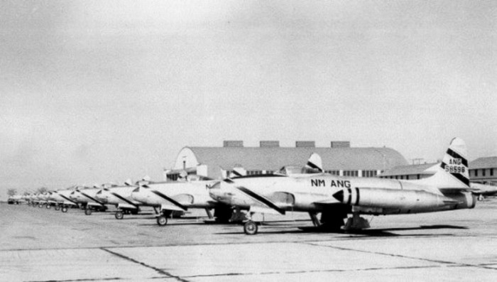8. Kirtland Air Force Base, in Albuquerque, during the 1950s.