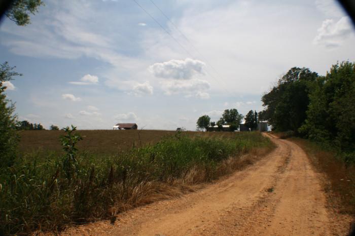 2. A back road can take you anywhere.