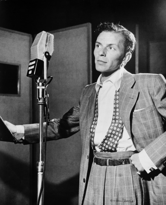 1945: Frank Sinatra cancelled a show to travel to Gary, Indiana to scold a group of white students at Froebel High School who were protesting racial integration by boycotting classes.