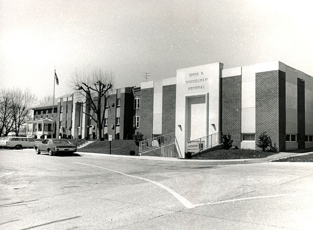 9. This is what Gettysburg Hospital looked like in the 1960s.