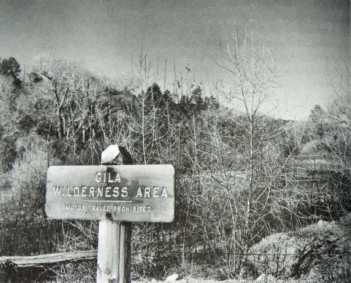 11. The Gila Wilderness during the 1960s.