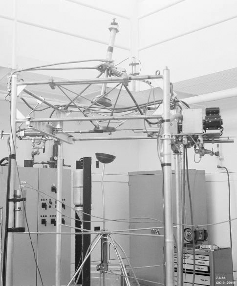10. The Lady Godiva Device, a nuclear reactor at the Los Alamos National Laboratory in 1954.