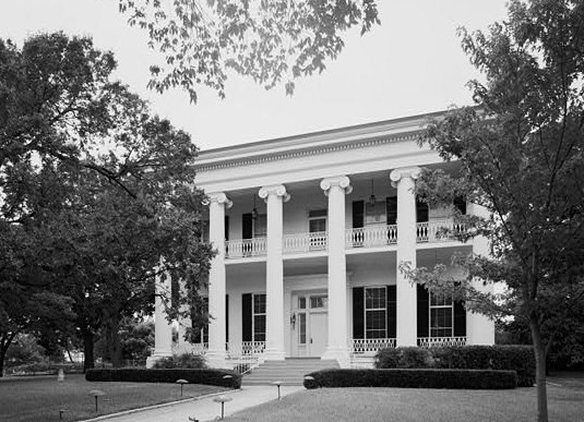 7. Pictured here is the Governor's Mansion in Austin, 1966.