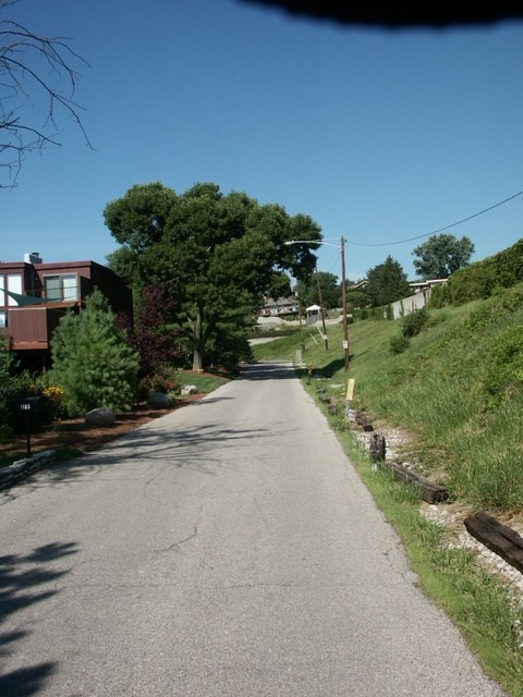Looking down/up Gravity Hill: