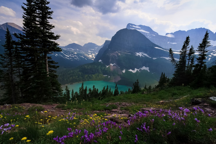 """2. """"Grinnell Lake Overlook"""""""
