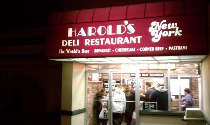 19. Harold's New York Deli, Edison