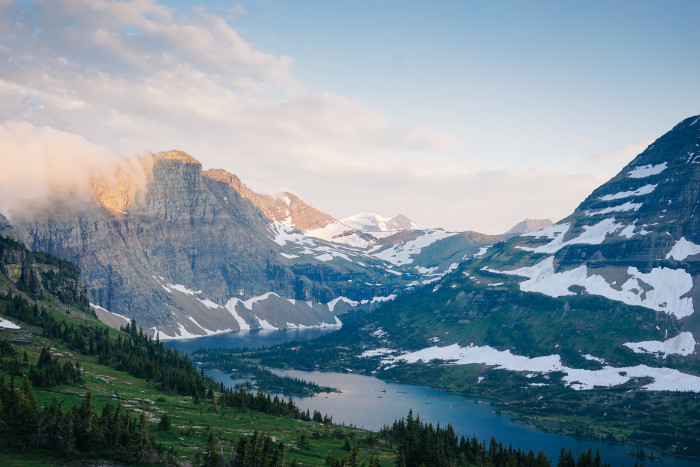 1. The very existence of Glacier National Park.