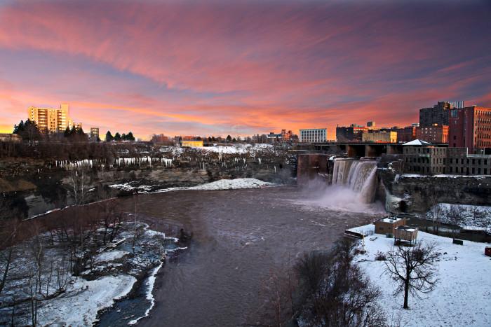 13. High Falls, Rochester