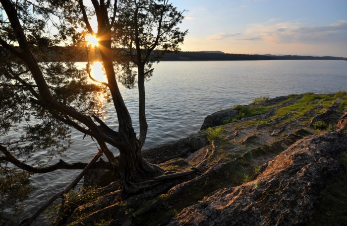 11. Watch the sun set over the 315-mile long Hudson river, it will blow your mind.