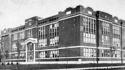 "8. ""Hutchinson High School in 1915."""