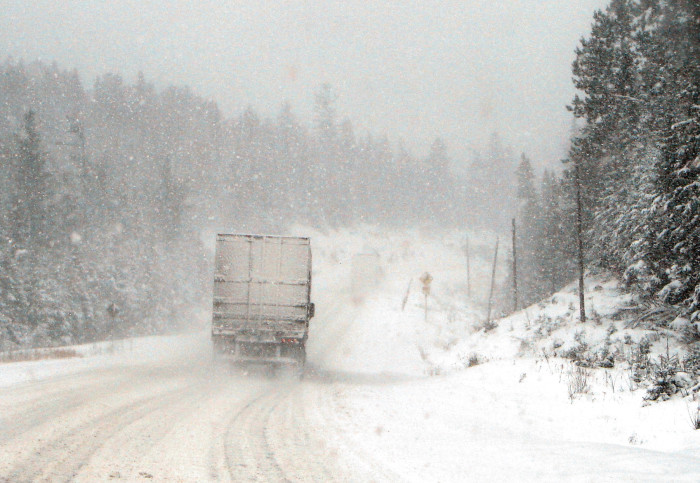 3. Icy Roads