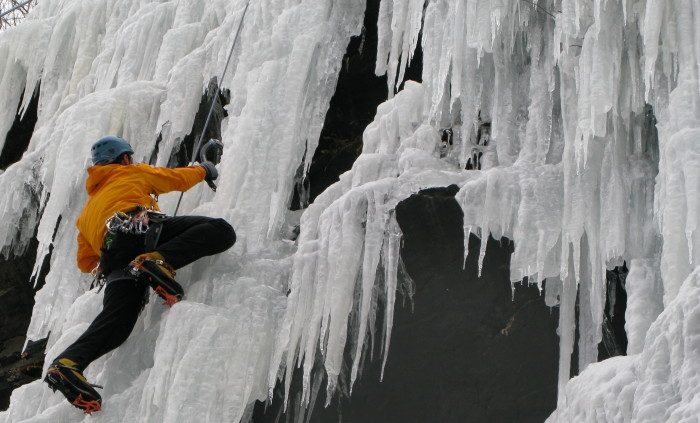Or maybe the adrenaline-filled adventures of ice climbing are more up your alley!