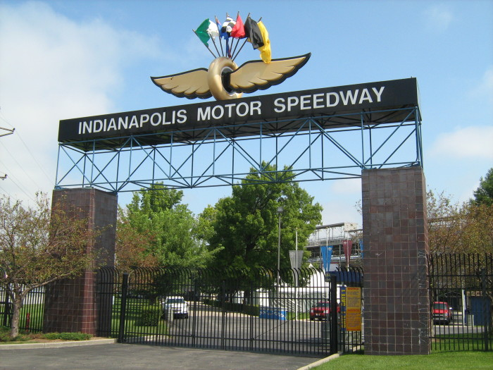 1. The Indianapolis Motor Speedway takes up a whopping 253 acres. To put that into perspective, the home of the Indy 500 is so large that Yankee Stadium, the Rose Bowl, Churchill Downs, the Roman Coliseum, AND the entire Vatican City could all fit comfortably inside its track!