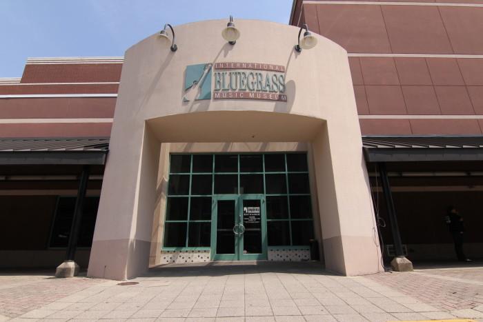 3. International Bluegrass Music Museum at 117 Daviess Street in Owensboro