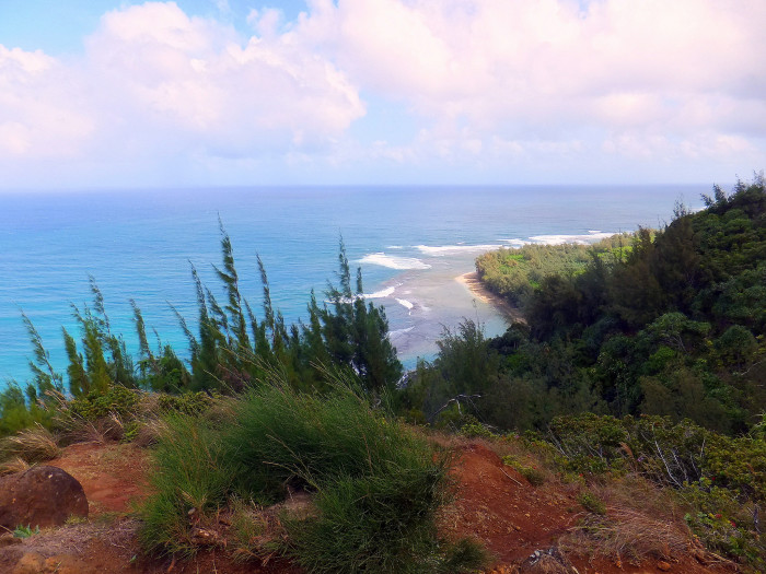 There is no denying the phenomenal, panoramic views from along the Kalalau Trail, though, unless you are an experienced hiker, I would stick to just admiring the beauty of the Na Pali coast through photographs until you've done enough hiking to be comfortable with anything.