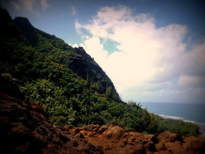 Campers must obtain permits, and are only allowed to set up camp at Hanakoa and Kalalau beaches. You can hike to Hanakapi'ai stream and beach, at the two-mile mark, without a permit, but you will need one to continue on your journey.