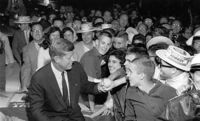 1.  Kennedy made a brief stop in Lexington during October 1960. Though short, it was a happy day for Lexington.