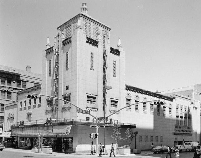 14. The old Kress building stands tall and mighty. (El Paso, 1978)