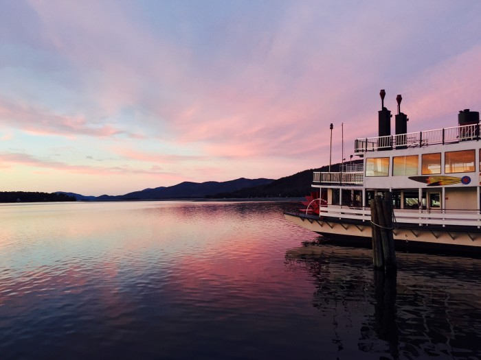 Another great way to see Lake George? Take a trip on one of its beautiful steamboats!