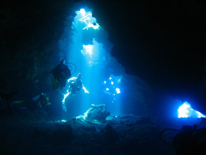 For a thrilling underwater adventure, consider diving at the Cathedrals, Lanai's most popular diving spot.