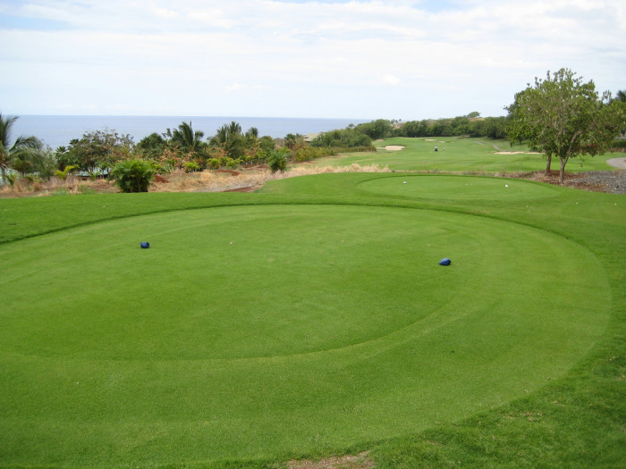 Golfers will want to check out The Challenge at Manele Bay, pictured below, or the Experience at Koele.