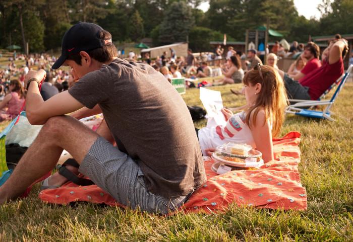 4. Catch an outdoor concert.