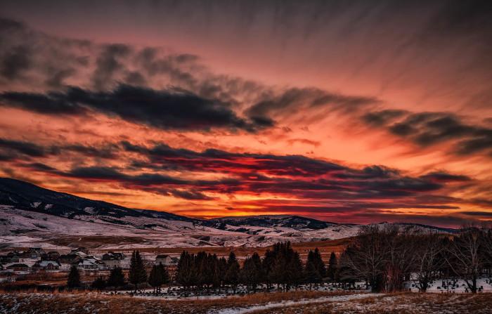 12 Beautiful Montana Sunsets