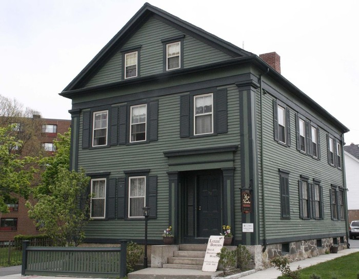 6. The Lizzie Borden House, Fall River