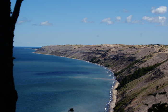 2. Log Slide Overlook, Pictured Rocks National Lakeshore