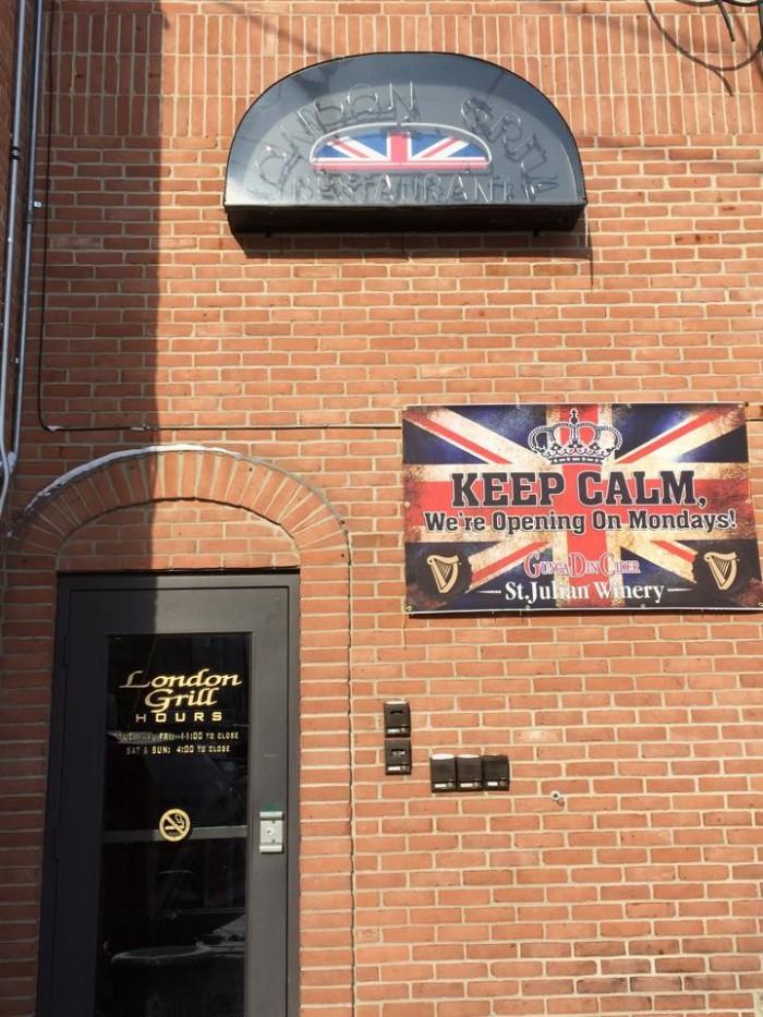 9. London Grill, Kalamazoo