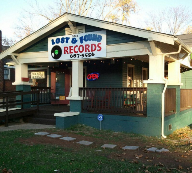 8) Lost 'n Found Records - Knoxville