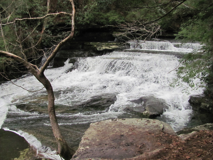 3. Lower Piney Falls - Piney Falls State Natural Area