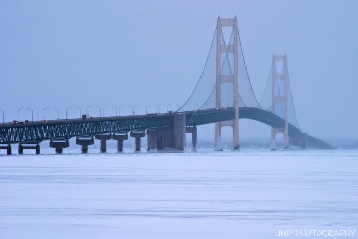8. Mackinac Bridge