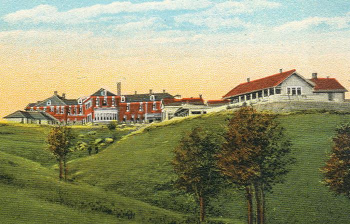 3. Michigan State Sanitarium, Howell